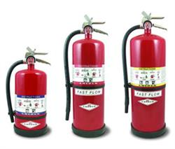 High Performance Dry Chemical Fire Extinguishers