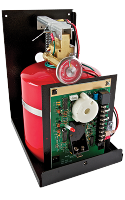 Guardian III- Model G300-B- Automatic Residential Fire Suppression System w/Electric Shut-off & Interconnect Cable