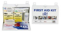 PAC-KIT- (FA 6100) 25 Person First Aid Kit - 143-Pieces, Metal
