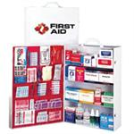 Brooks- 4 Shelf- Metal- Industrial First Aid Cabinet- Fully Stocked- FA14924