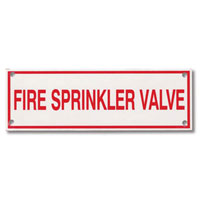 Fire Sprinkler Identification Signs