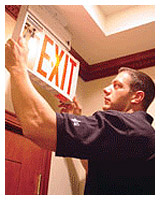 Emergency Exit Light Testing