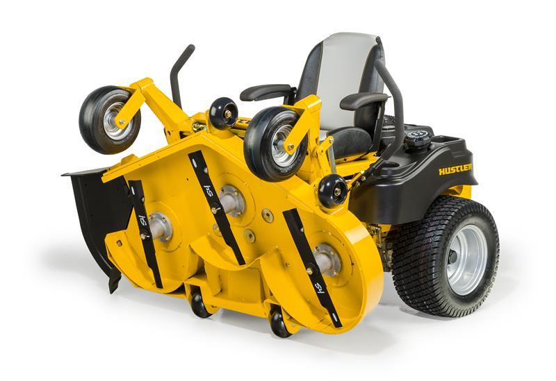 Hustler- Raptor Flip Up- Zero Turn Mower With Side Discharge-3739