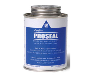 LynCar PRO250 ProSeal PTFE Pipe Thread Sealant w/ Brush - 250 mil