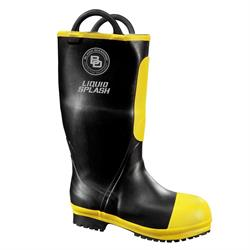 BLACK DIAMOND 6999451 - Rubber Firefighter Boots - 16