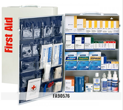 Brooks - FA90576- Metal 4-Shelf, Full - First Aid Cabinet
