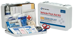 Brooks - 25-Person, ANSI A+ Vehicle First Aid Kit, Metal - FA90672