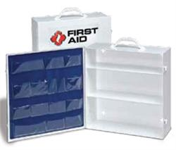 Brooks FA13014 Metal First Aid Cabinet - 3-Shelf (Empty)