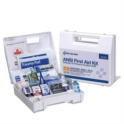 Brooks - FA90589 25 Person First Aid Kit - 141-Pieces, ANSI A+, Plastic Weather-proof box