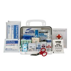 Brooks - FA90754 10 Person First Aid Kit - 71-Pieces, ANSI A, Plastic Weather-proof box