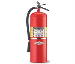 Amerex AX411 ABC Dry Chemical Fire Extinguisher - 20 lb w/Wall Hanger - 10A:120B:C