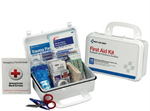Brooks - FA6060 - 10-Person, 57-Piece, Plastic First Aid Kit