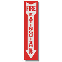 Fire Extinguisher Signs & Number Kits
